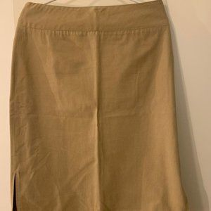 100% Cotton Banana Republic pencil skirt